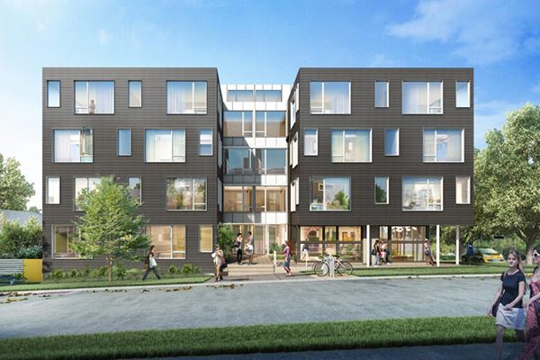 Betula House rendering